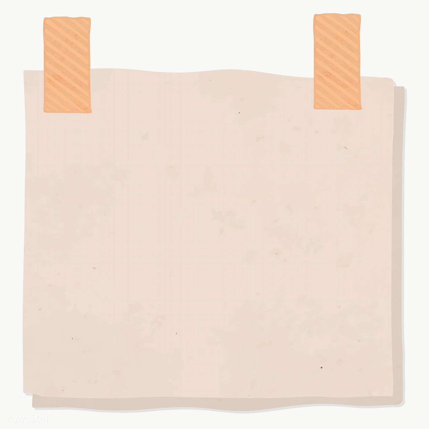 Blank Reminder Paper Note Transparent Png Premium Image By Rawpixel Com Sasi Note Paper Note Doodles Paper Background Texture