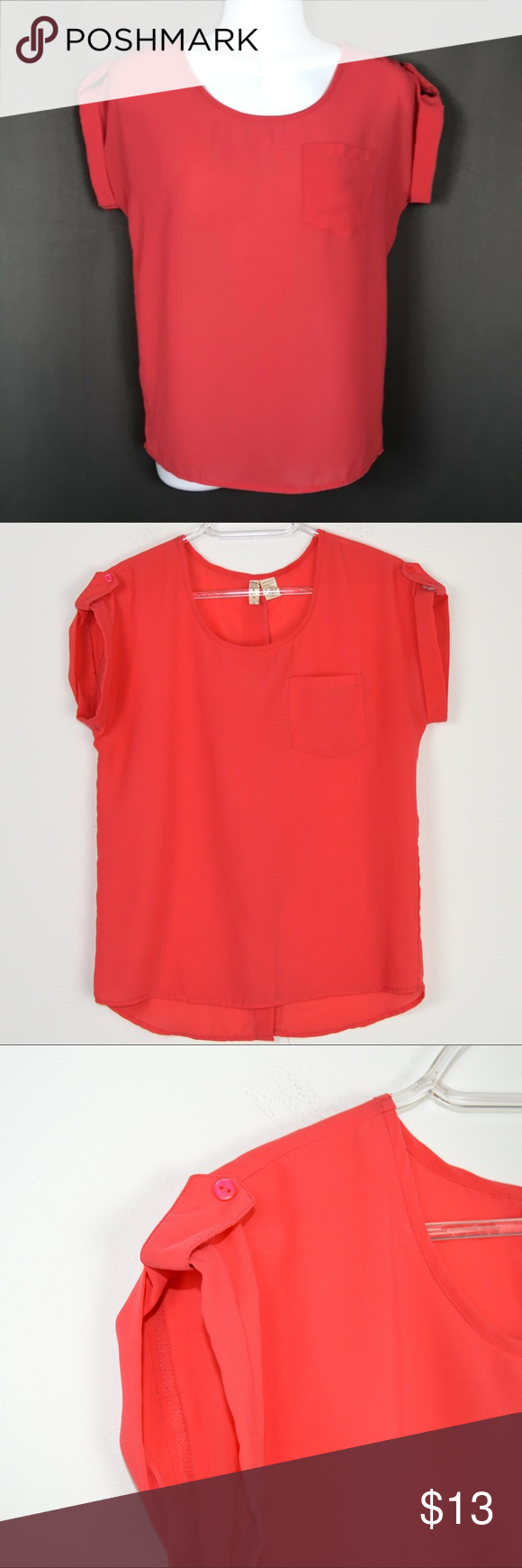 Japna Semi Sheer Tunic Top Cuffed Tab Sleeve in 2019   Shop