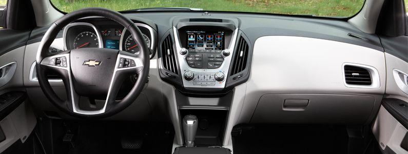 Chevy Equinox Interior | Markquart Motors Eau Claire | Chevy ...