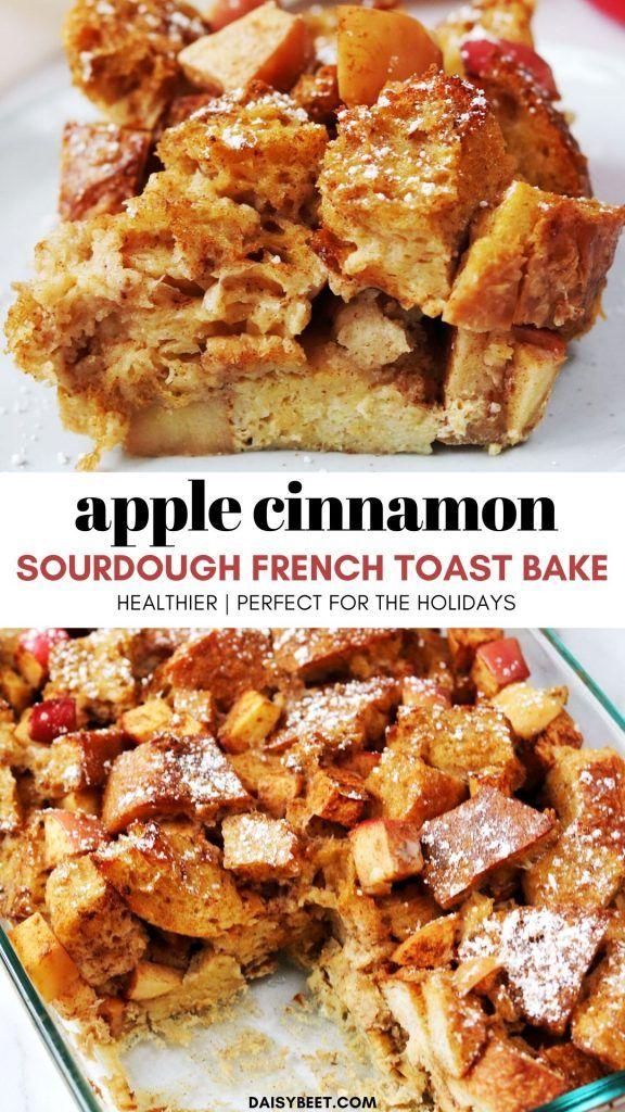 Apple Cinnamon Overnight Sourdough French Toast Bake ...