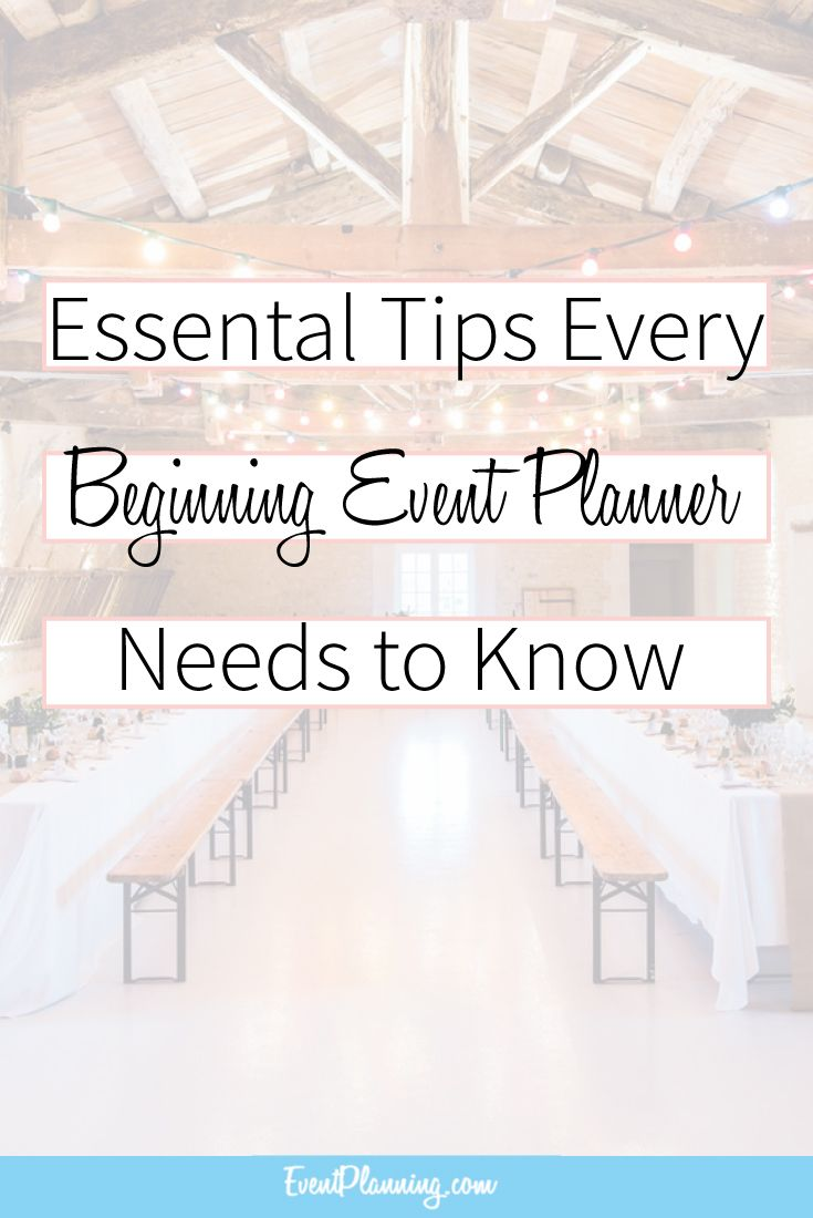Essential tips for beginning event planners event planning essential tips every beginning event planner needs to know event planning tips event planning 1betcityfo Images