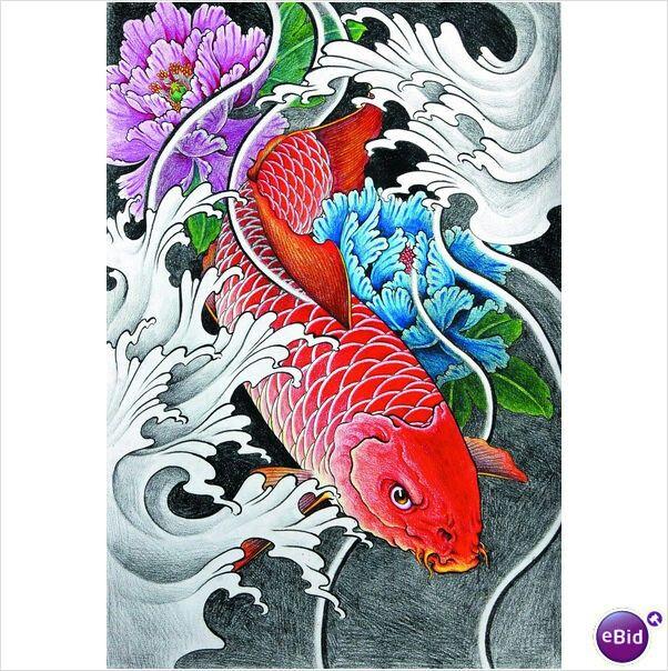 tatuagem oriental orient tattoo koi phoenix queixa koi pinterest koi tattoo and oriental. Black Bedroom Furniture Sets. Home Design Ideas