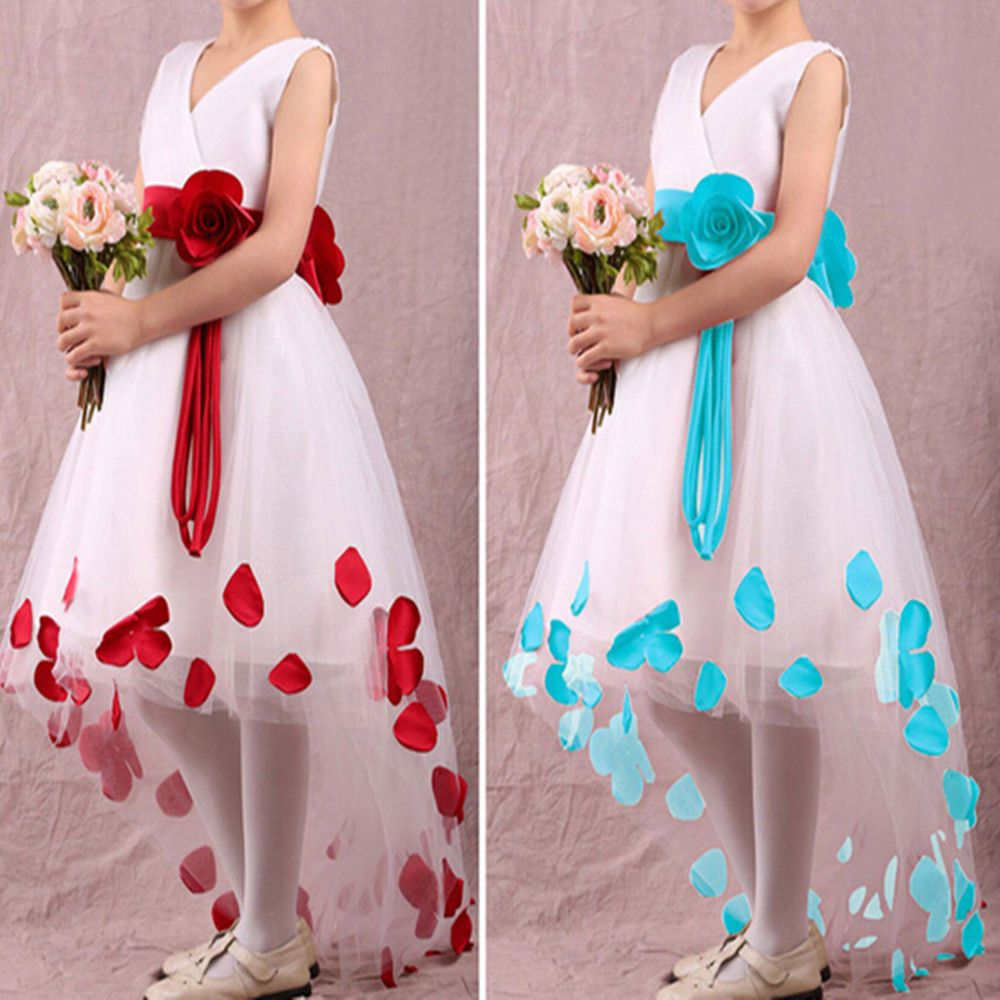 Dress for wedding party for girl  Details about Dreamlike Princess Dress Flower Girl Dress Wedding