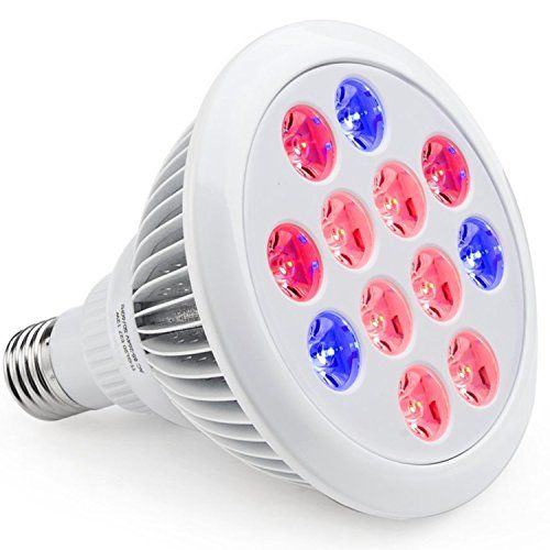 Special Offers - Cheap iHOVEN Plant Grow Light Bulb LED High Efficient Grow Lights Greenhouse Growing and Flowering Lamps for Indoor Garden and Hydroponic Plants Growing Lighting( E27 12w 3 Bands) - In stock & Free Shipping. You can save more money! Check It (February 18 2017 at 07:00PM)…