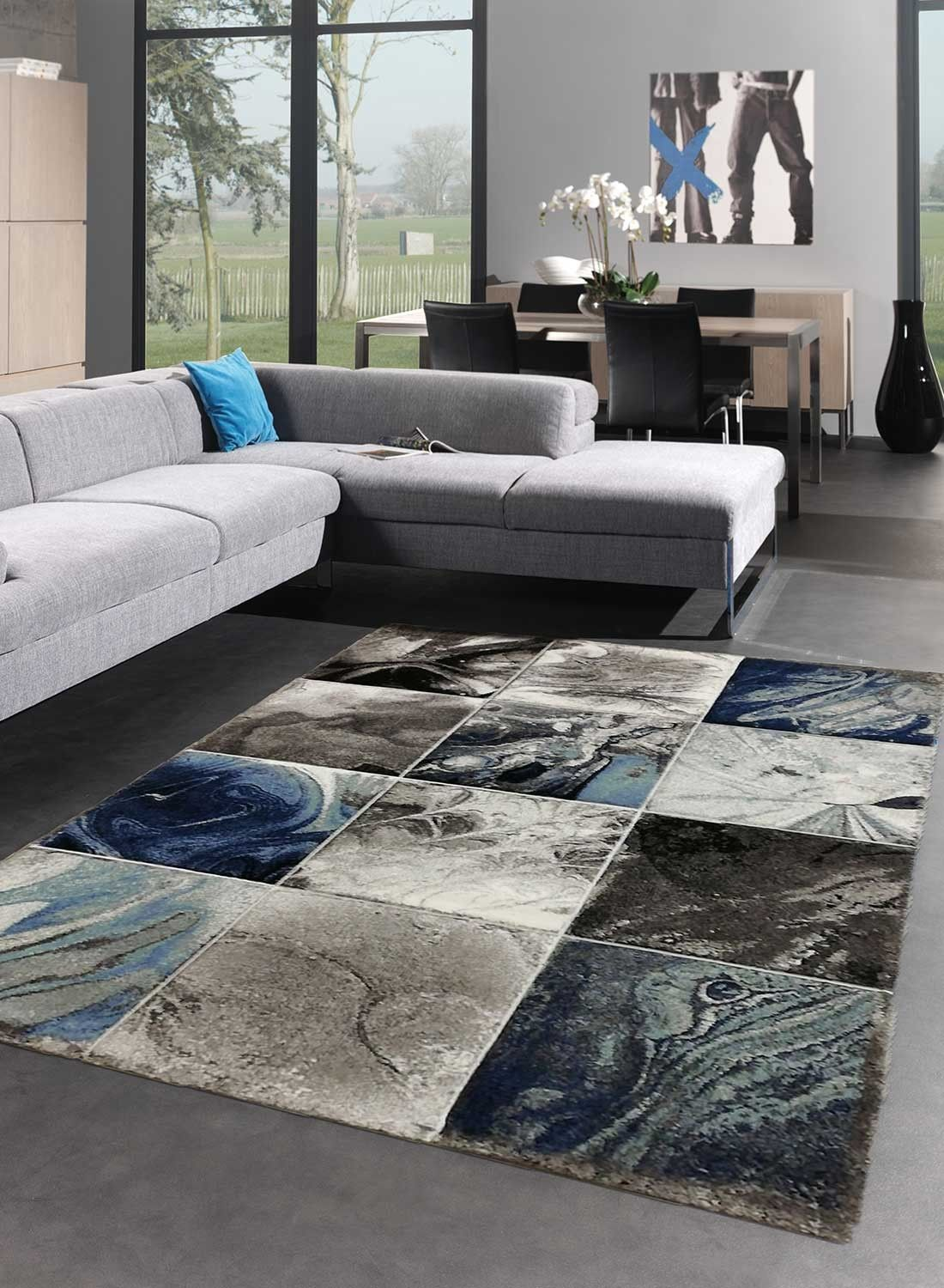 Tapis Salon Carré Tapis De Salon Carre Nacre Bleu En 2019 Tapis De Salon Rugs