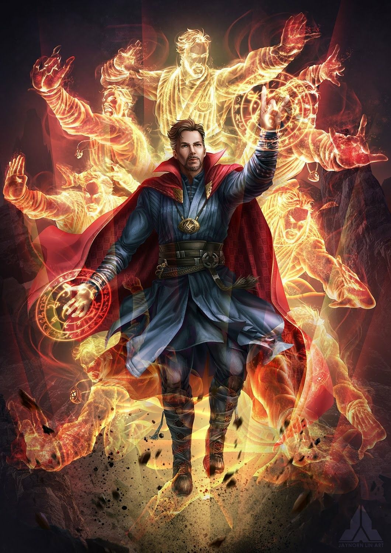 Doctor Strange Wallpaper Komik marvel, Marvel avengers