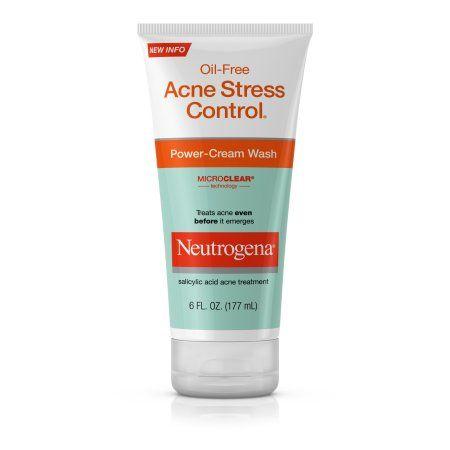 Neutrogena Oil-Free Acne Stress Control Power-Cream Face