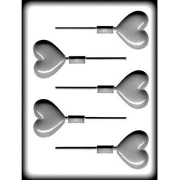lollipop mold, heart