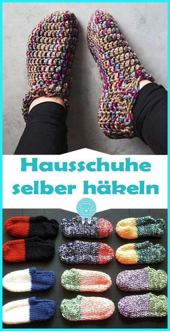 Photo of Häkelhausschuhe – kostenlose Anleitung für Anfänger   – Häkeln, Sticken & St…