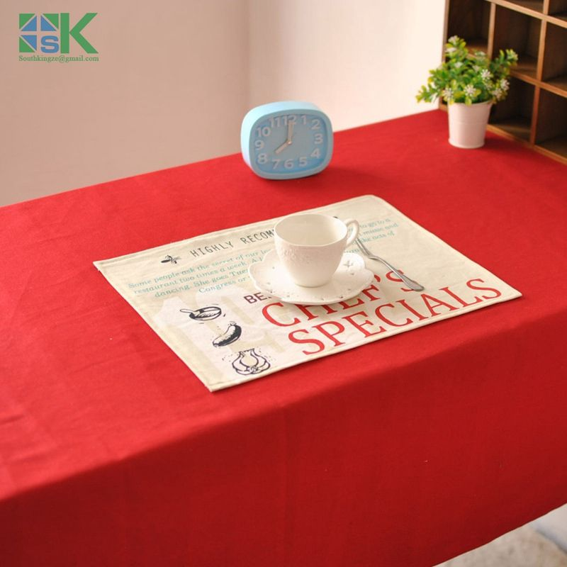 Find More Table Cloth Information About Home Decors New Factory Direct Red Solid  Color Tablecloth Restaurant
