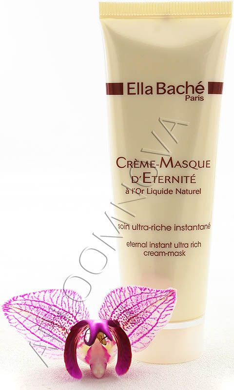 Ella Bache Eternal Instant Ultra Rich Cream-Mask instantly comforts and relieves dryness. This silky smooth textured mask is a dual function product that is ...