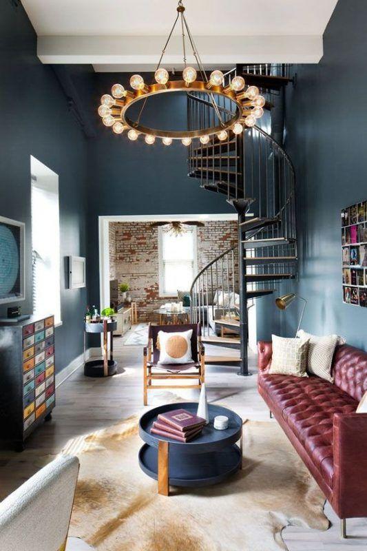 Mooie combinatie van materialen en kleur. #tida #parket #woonkamer ...