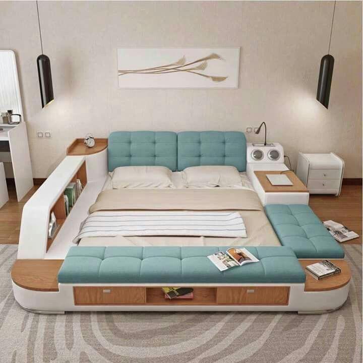 Pin de Venky en Bedrooms | Pinterest | Camas, Muebles modernos y ...