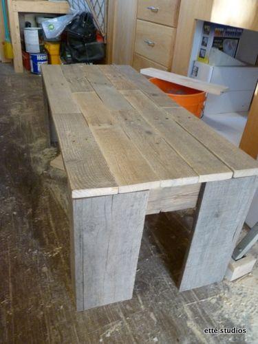 etté studios: Shipping Pallet Coffee Table