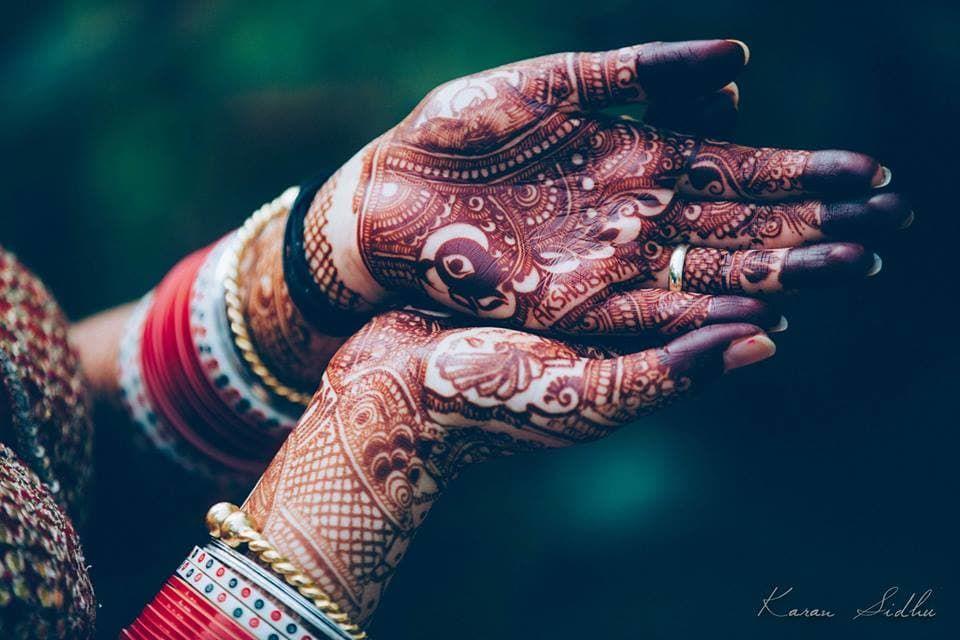 Bridal Mehndi Birmingham : Mehandi bridal photos sikh culture maroon color