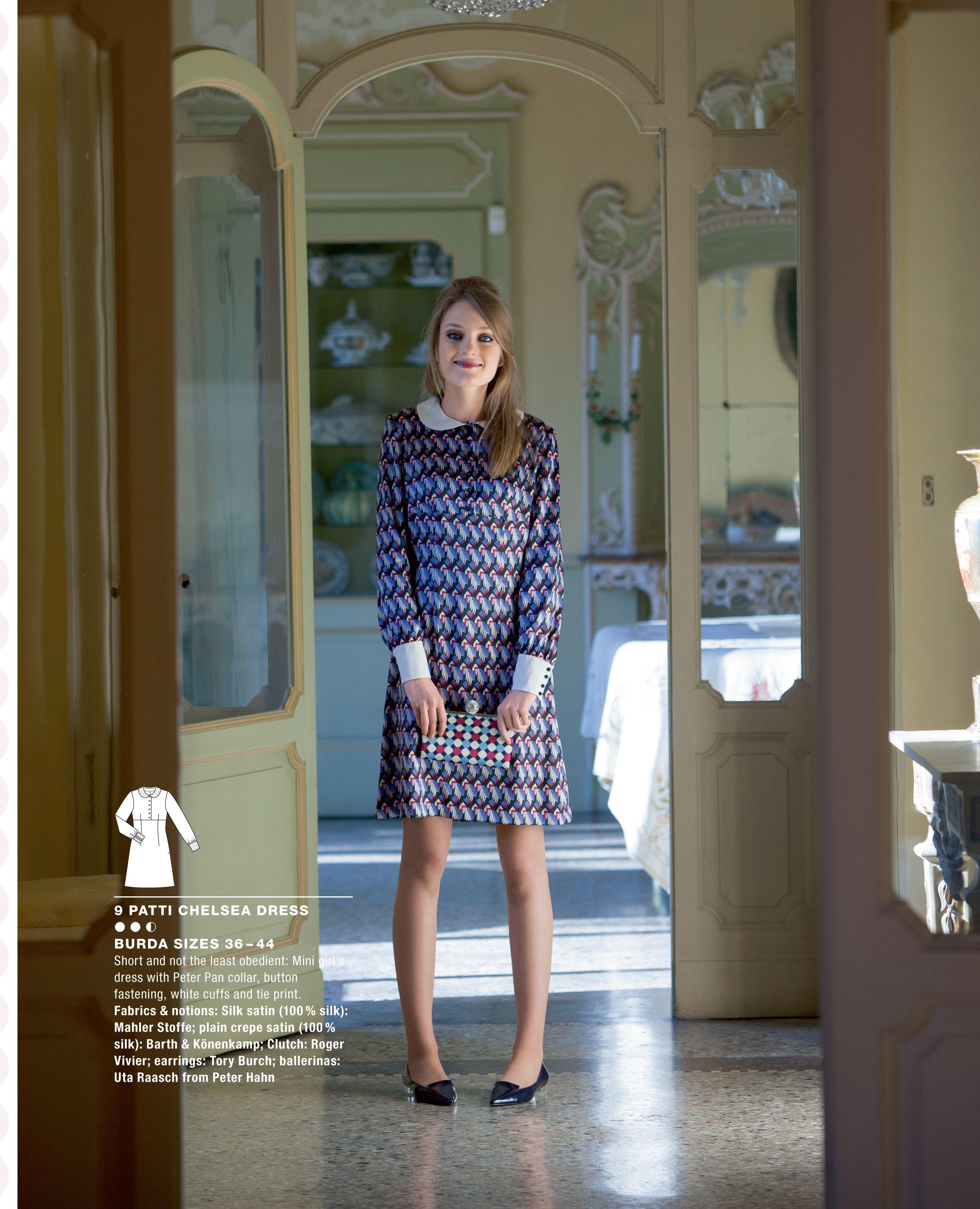 Patti Chelsea Dress from Burda Style special vintage magazine ...