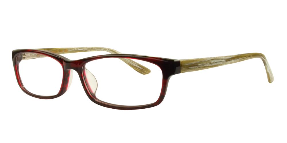 9609b377308 Anna Eyeglasses Red Frame Fit:Medium Measurements:55-15-142 Lens Height