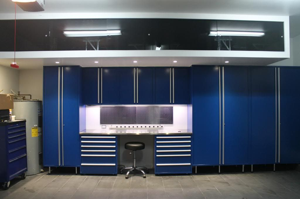 Blue Saber Cabinet Install  Review  The Garage Journal