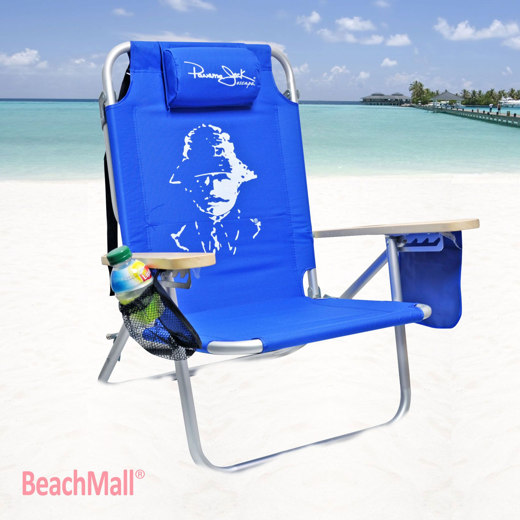 2 beach chairs on the beach - Beach Chair By Panama Jack