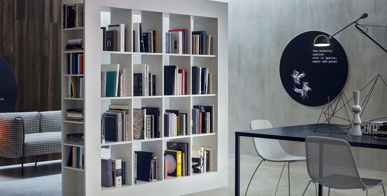 Libreria per Arredamento, Frame Novamobili Espacio de