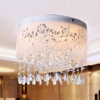 Modern Yet Traditional Ceiling Light Spotlighted With Elaborate