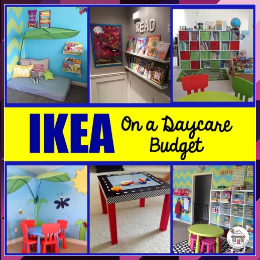 Home Daycare Design Ideas: IKEA On A Daycare Budget In 2020