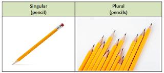 Singular And Plural Nouns Materi Bahasa Inggris Kurikulum Materi Bahasa