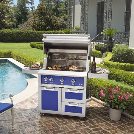 Hestan Prince G_BR36 Tower Cart Grill - 36"