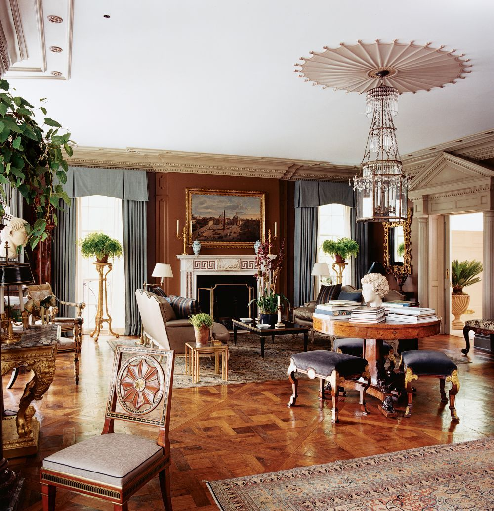Drawing Room Design · Traditional Living Room By Timothy Whealon And David  Stanton In New York