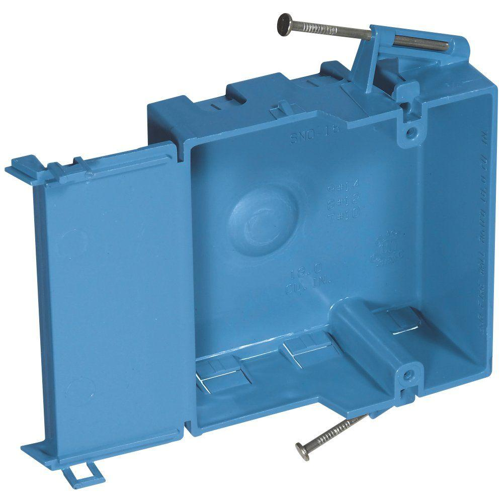 Shallow New Work Electrical Box Case Of