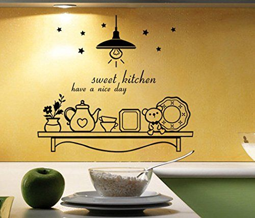 LayaStore DIY Wall Quote Decor Art Decal Sticker Removable - Sweet ...