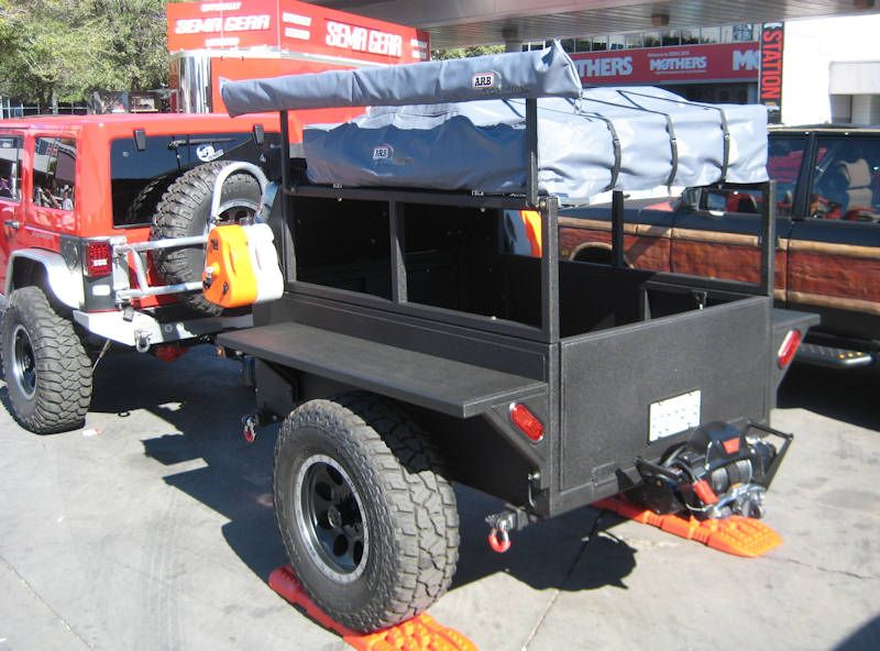 Camping and Utility Trailer