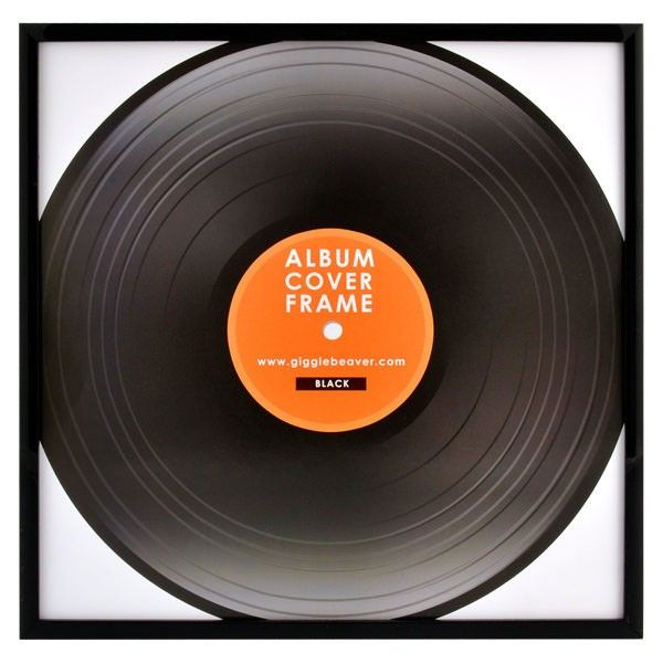 Record Album Frame Black Vinyl Display Frame Album Frames Frame Record Album