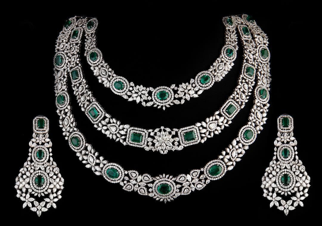 Necklace Option For Your Engagement Gown By Jbguptajewelers