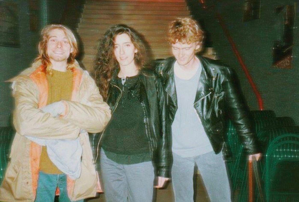 Pin By Melissa Kaizer De Souza On Kurt Cobain Nirvana Leather Jacket Red Leather Jacket Style [ 842 x 1242 Pixel ]