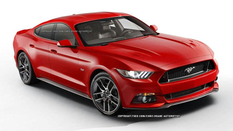2015 Ford Mustang 4 Door Concept Sports Cars Mustang 2015 Ford Mustang Ford Mustang Gt