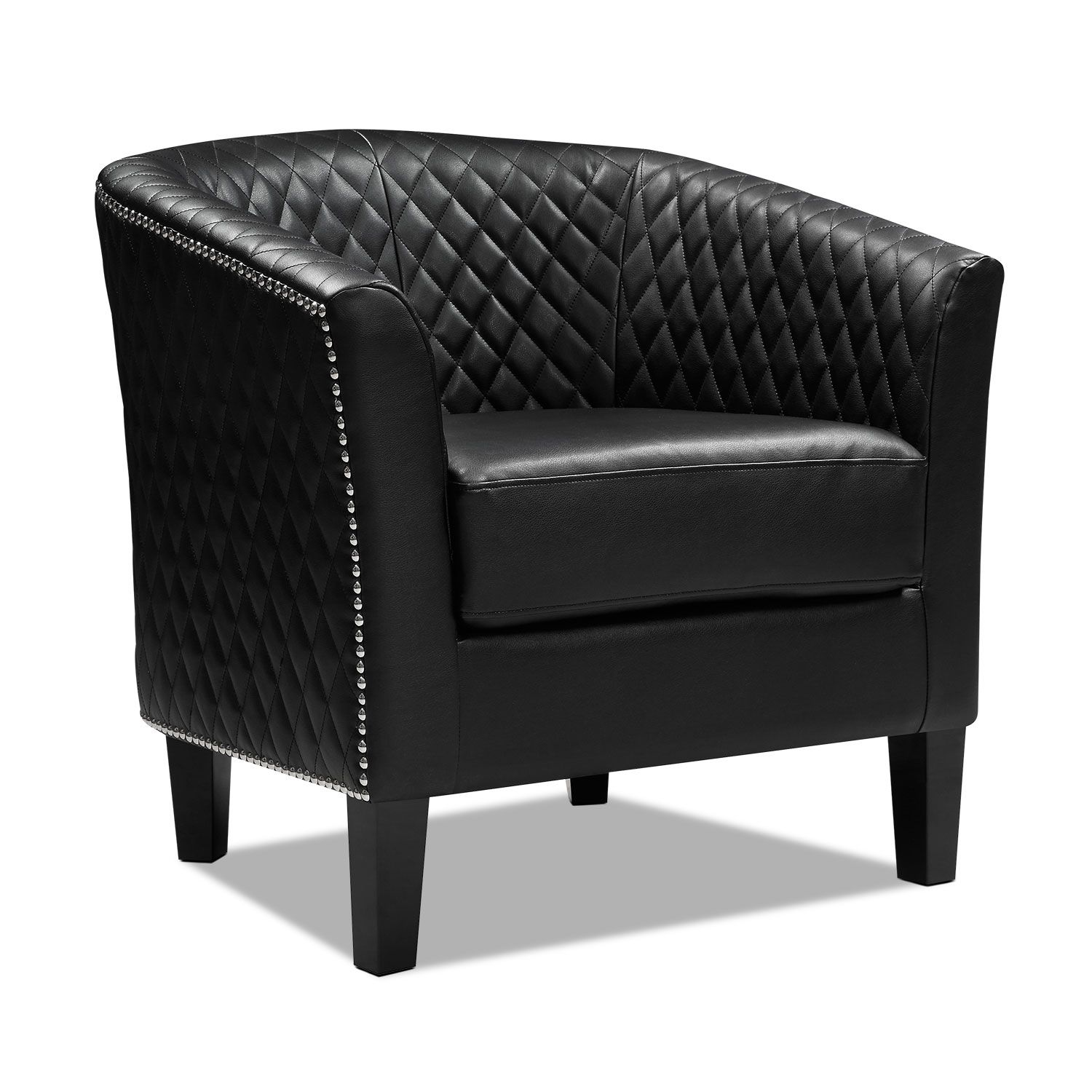 Luxor Accent Chair Accent Chairs Furniture Black Accent Chair