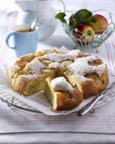 Zitronen-Apfel-Tarte Rezept