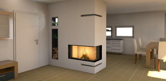 pin von jolanta auf kominki pinterest wasserf hrender ofen moderne kamine und speicherofen. Black Bedroom Furniture Sets. Home Design Ideas