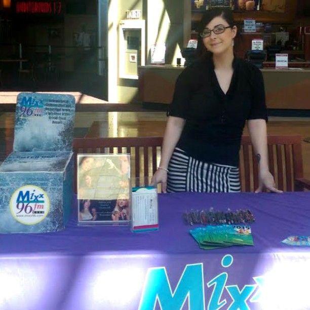 Queen of career fairs, Julia Pintello. #mypromotionsteam #mymixx96