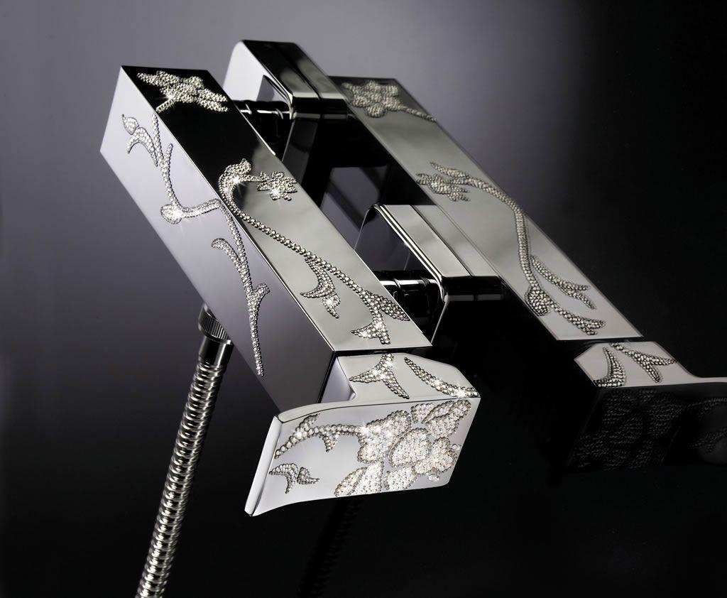 Maier Skip Diamond Faucets   Amazing........... so beautifull ...