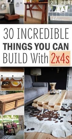 30 Incredible Things You Can Build With 2x4s