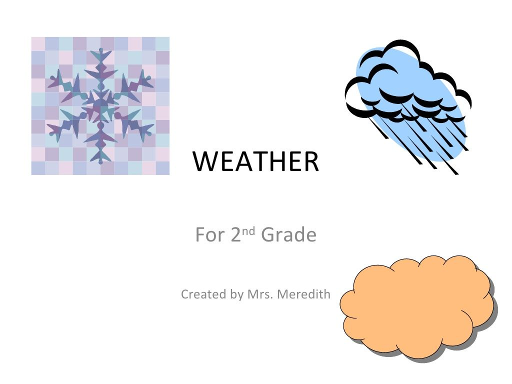 Weather Powerpoint Quiz 2nd Grade By Overland Trail Middle
