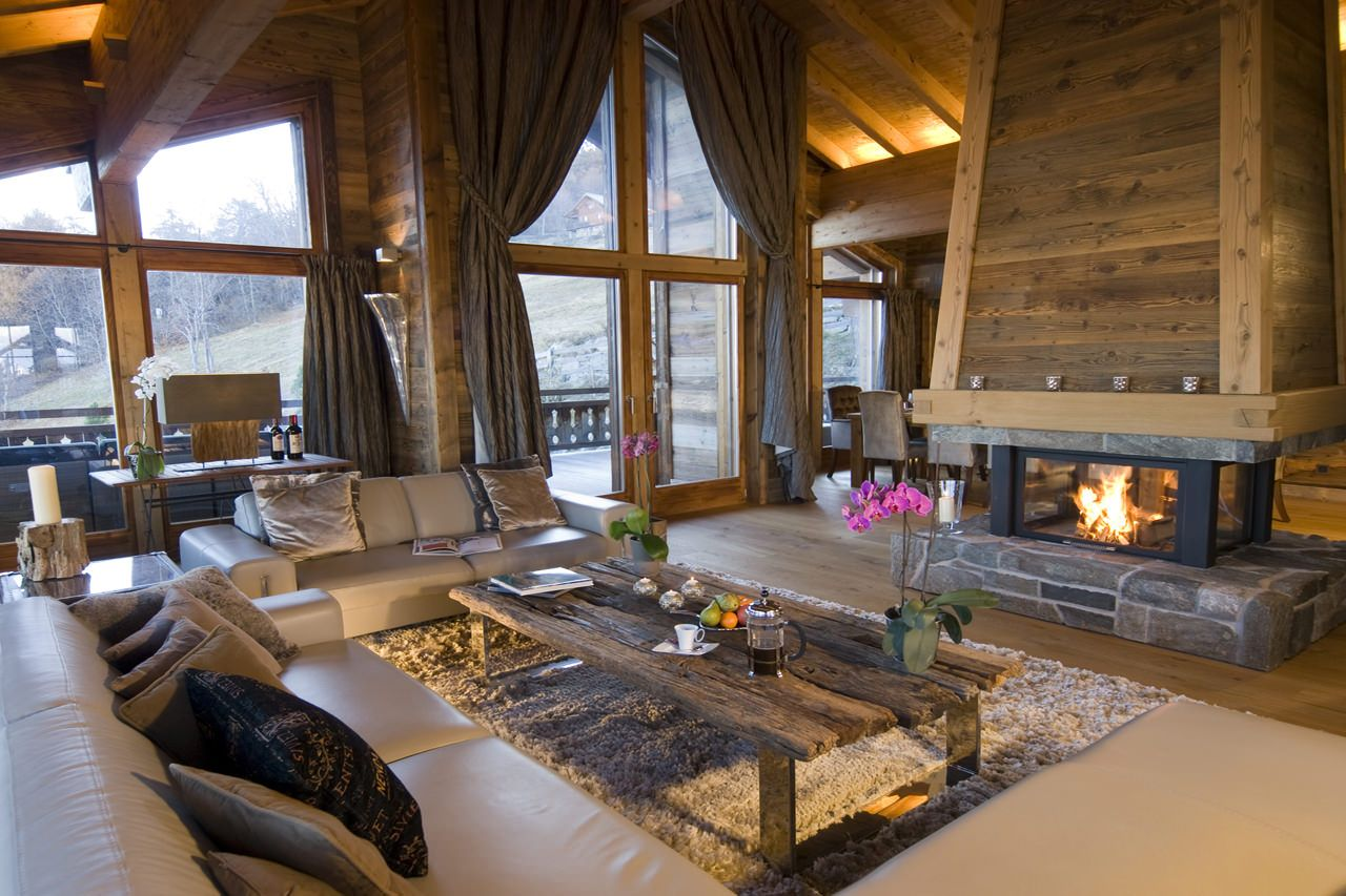 chalet ighzer nendaz chalets and mountain homes interiors