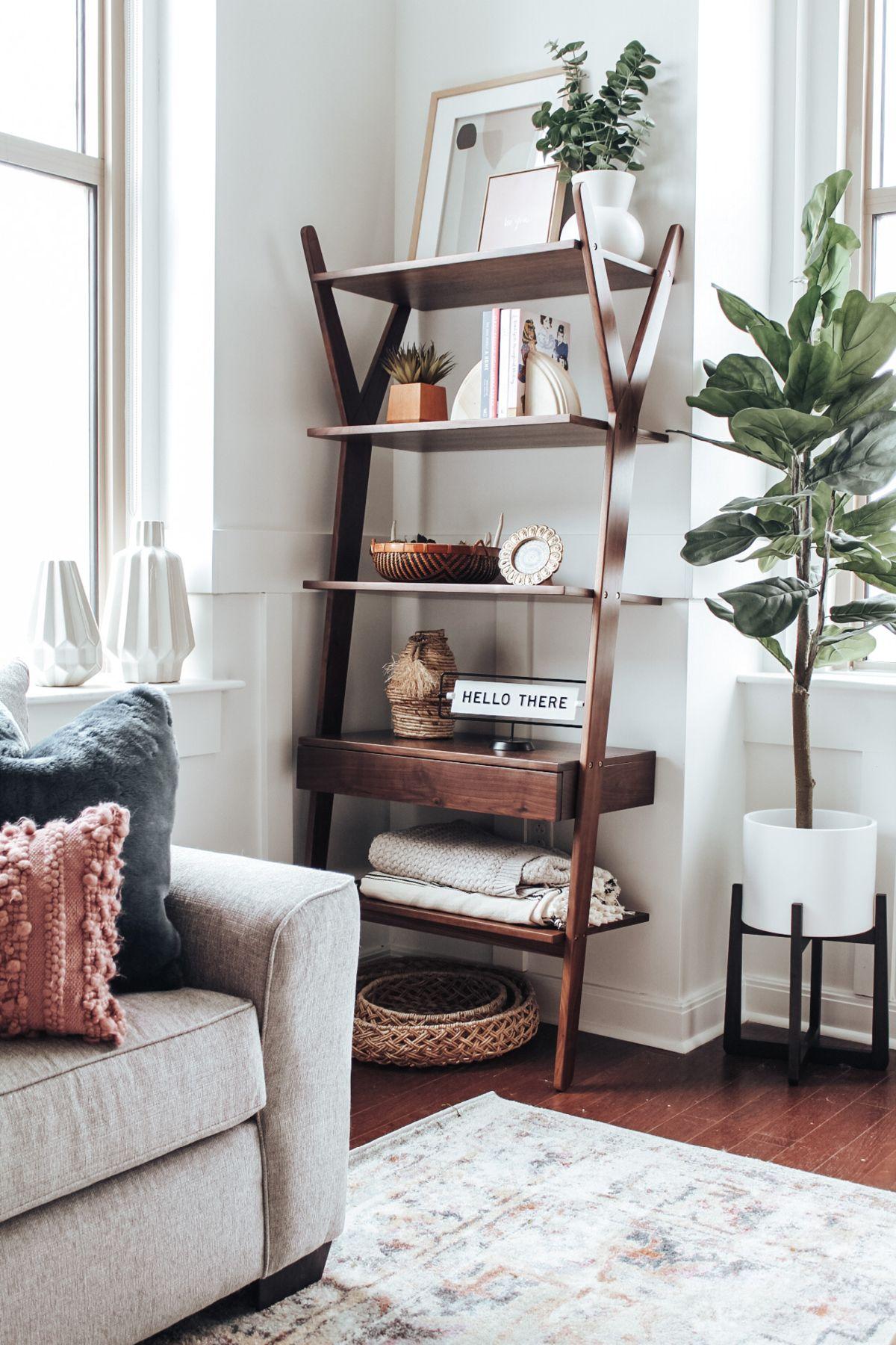 Lignum Walnut Shelving Unit In 2020 Bookshelves In Living Room Bookshelves In Bedroom Shelf Decor Living Room #shelf #unit #living #room