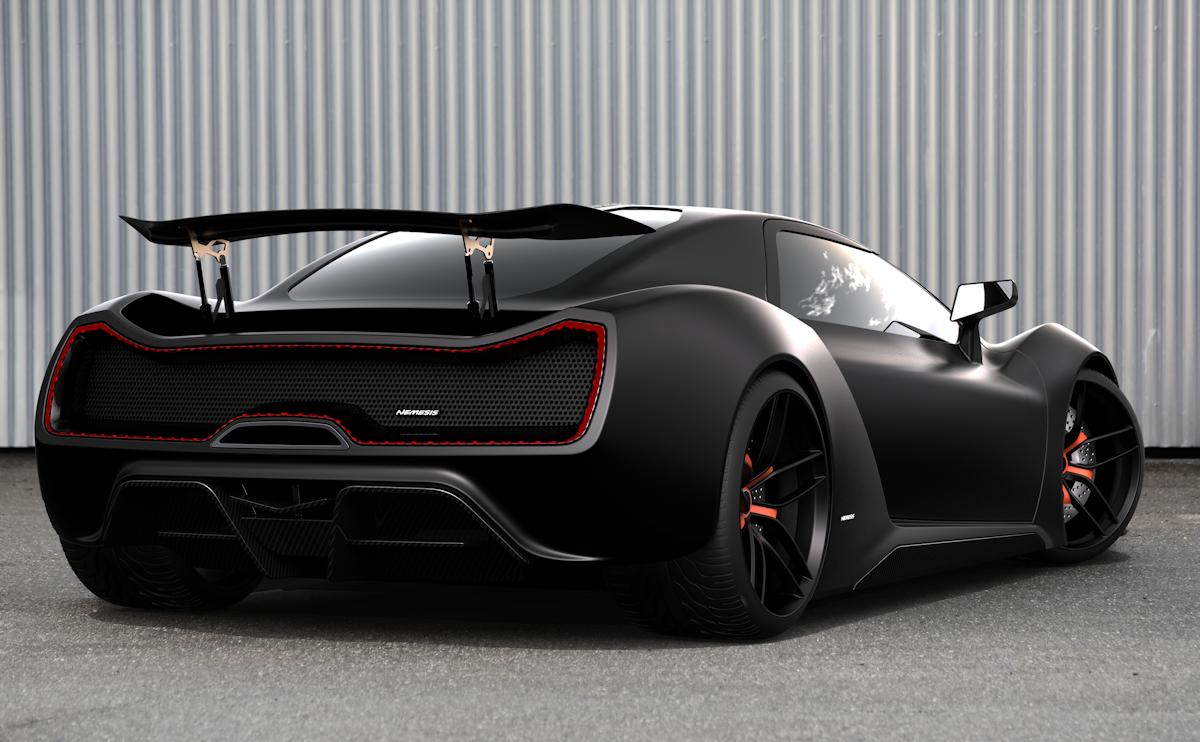 Trion Nemesis Rr Promises 2 000 Horsepower Super Cars Trion Classic Cars