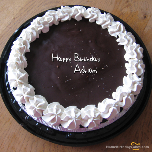 Image result for happy birthday to adrian cake""