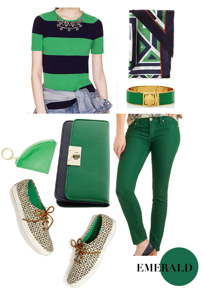 emerald... Pants.  I want something green.