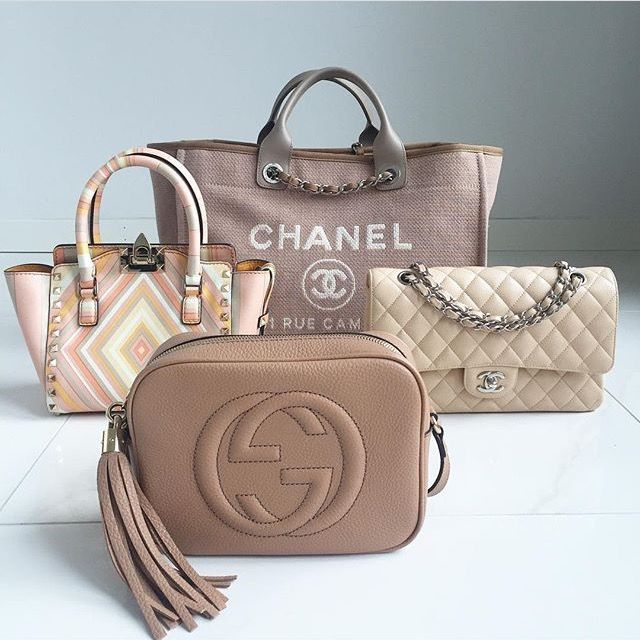 f31db27861cf A brown rust color tote Chanel bag