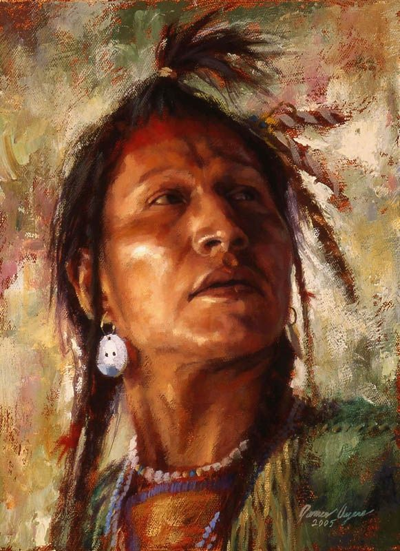 Always Watchful, Crow Warrior by James Ayers